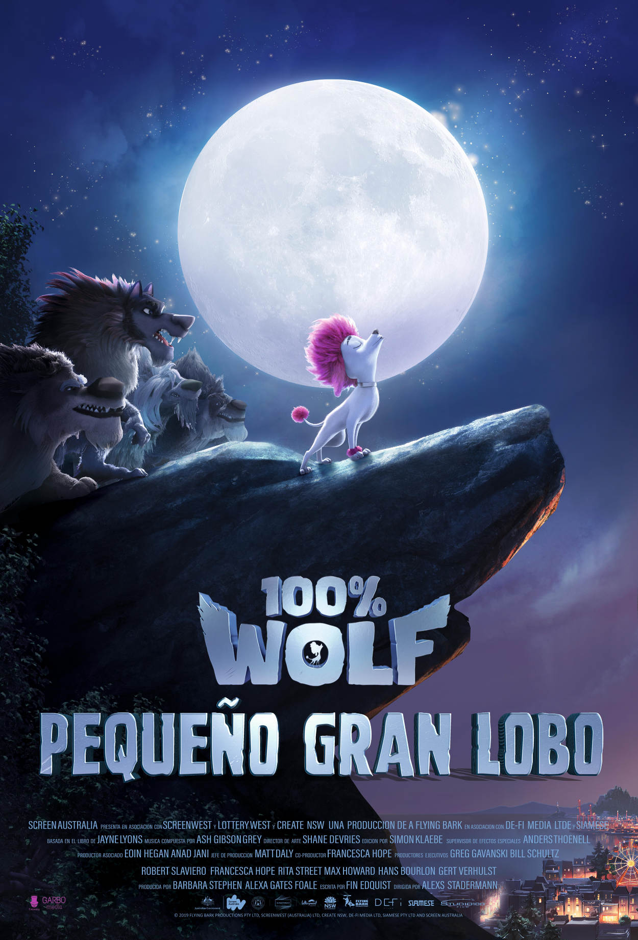 poster pequeño gran lobo