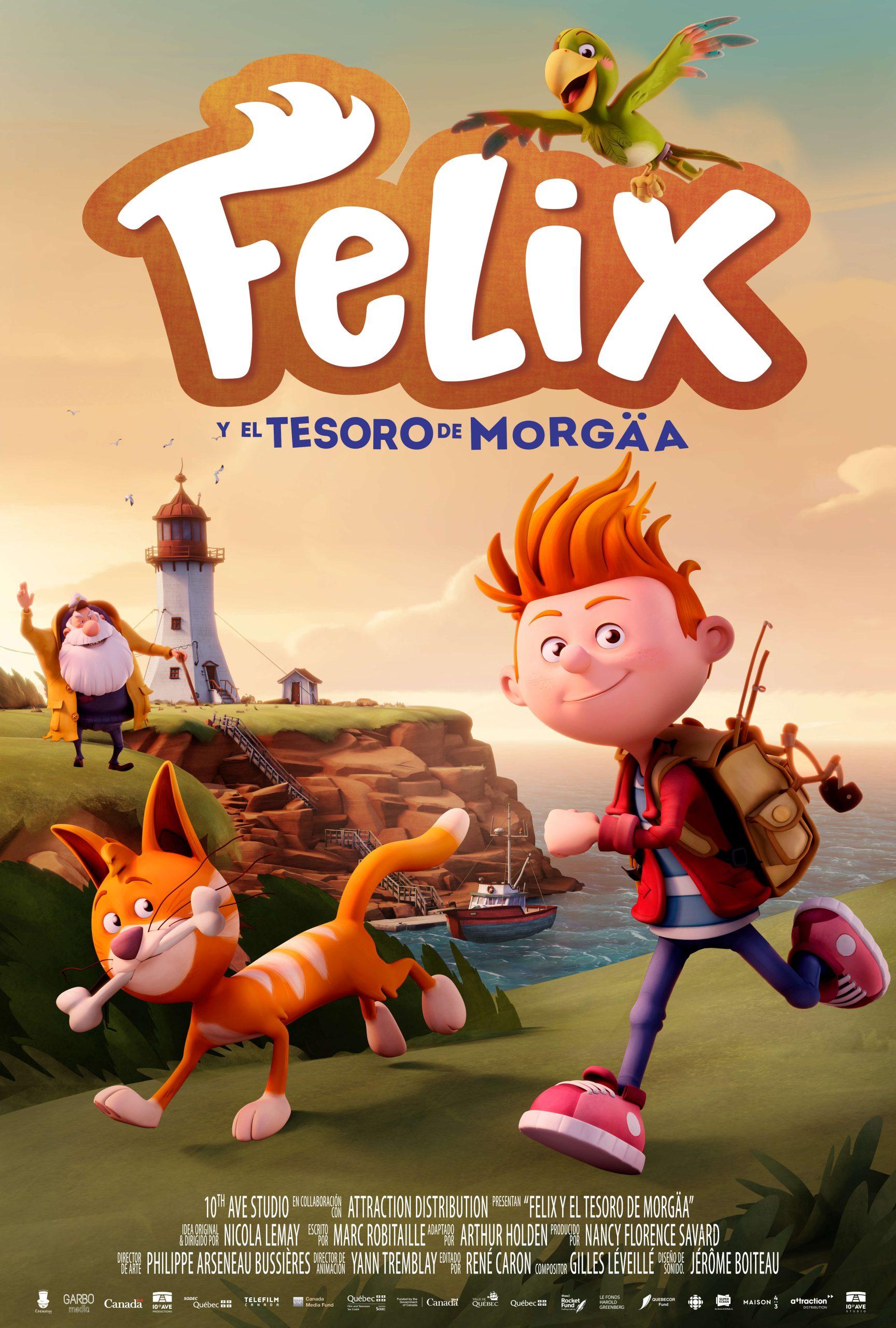 poster Felix y el tesoro